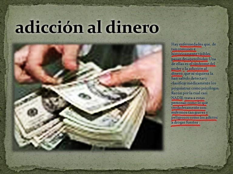 Adiccion al dinero hostal santa clara estartit