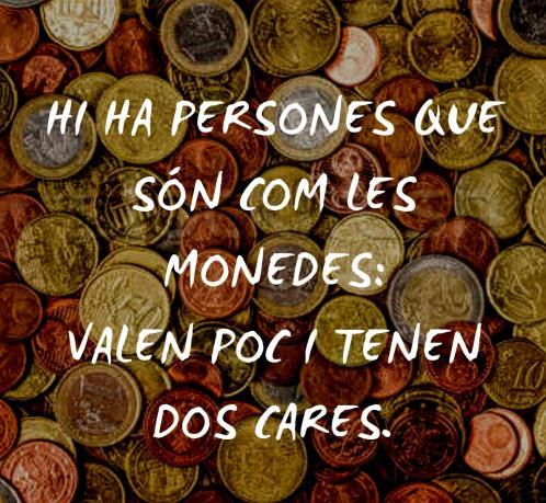 Monedes catala hostal santa clara estartit