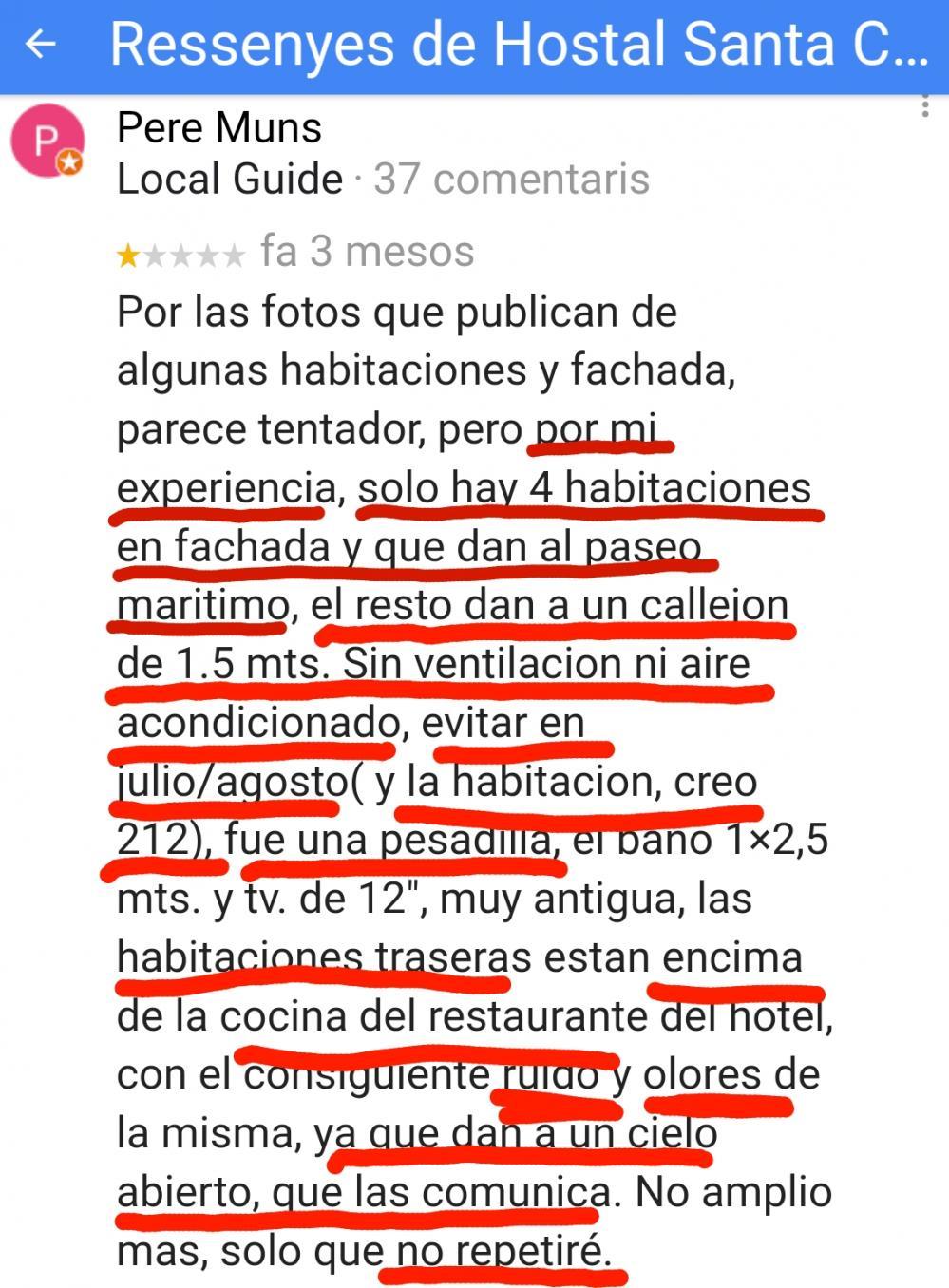Hostal Santa Clara Hotel Estartit Hoteles
