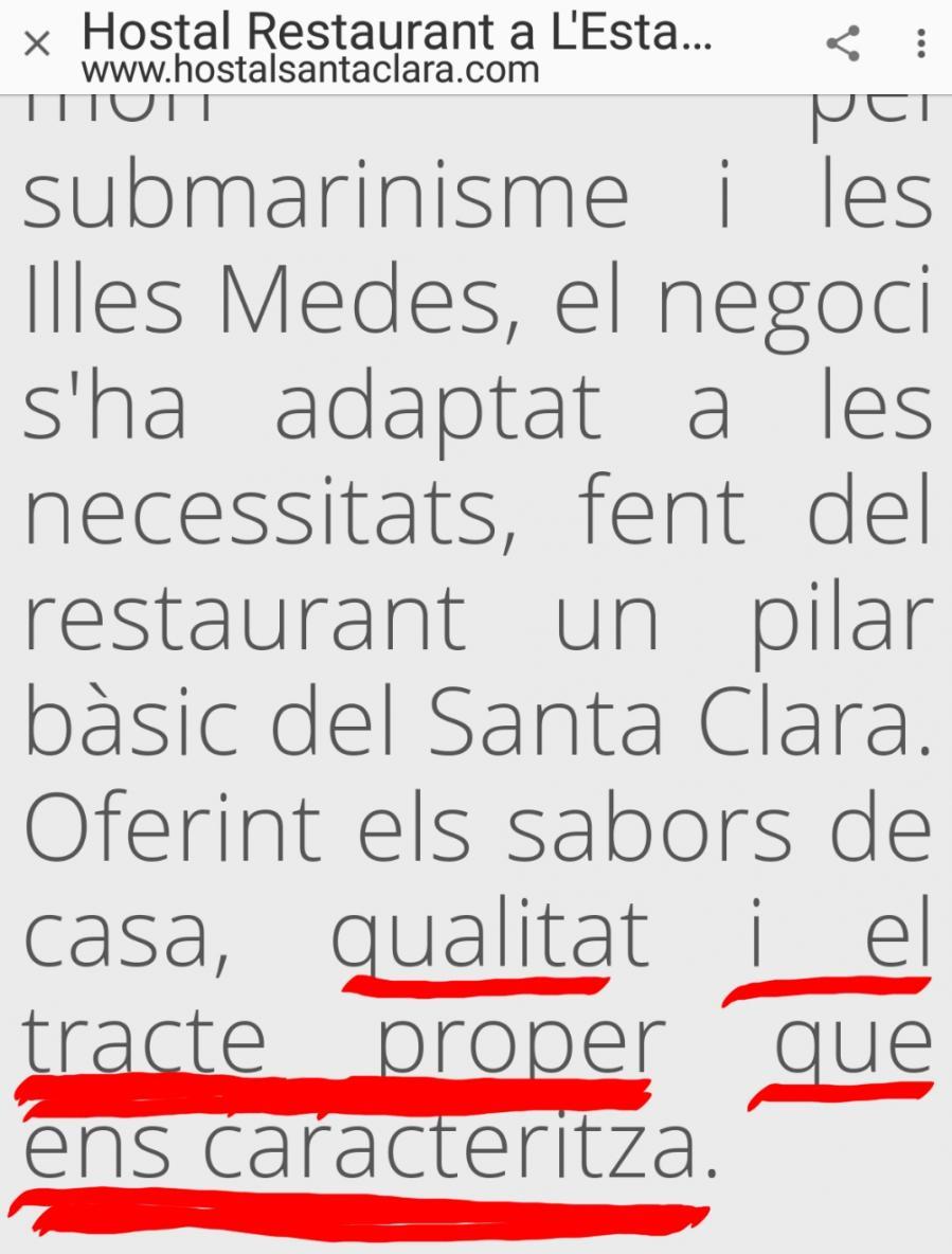 Santa Clara Estartit Hostal Hoteles